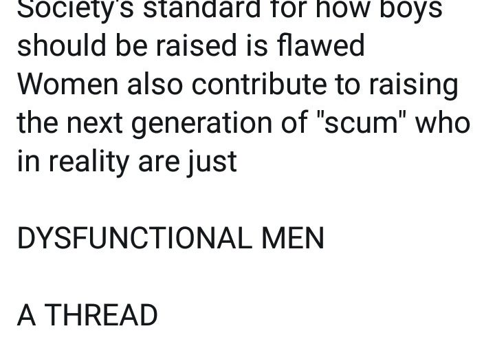 """Man explains how women and society contributed to raising """"dysfunctional men""""…"""