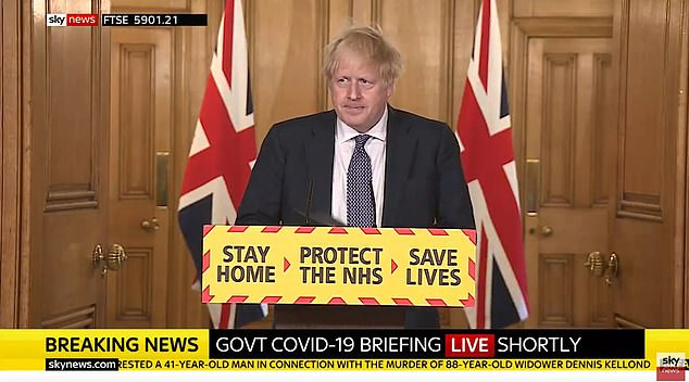 UK prime minister, Boris Johnson says wearing of face masks will be part of UK lockdown exit strategy…