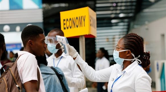 Africa does not need saving during this pandemic…