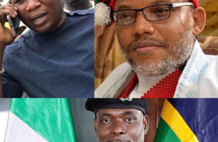 Nnamdi Kanu Reacts To IGP's Order For The Arrest Of Sunday Igboho Over Eviction Notice…