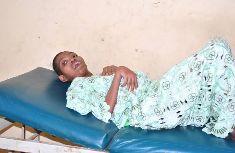 Osun Govt Rescues 20-Year-Old Physically Challenged Lady Locked Up For 5 Years By Father (Photos)…