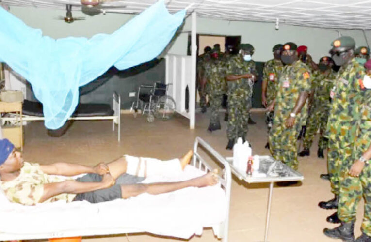 Wounded Soldiers Decry Neglect, Non-Payment Of Allowances…
