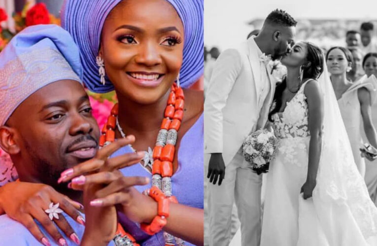 Adekunle Gold And Simi Celebrate 2nd Wedding Anniversary (Photos)…