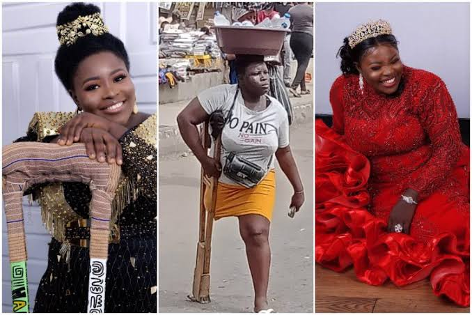 Lagos Amputee Hawker, Mary Daniel, 'Arrested' For Allegedly Faking Her Story…