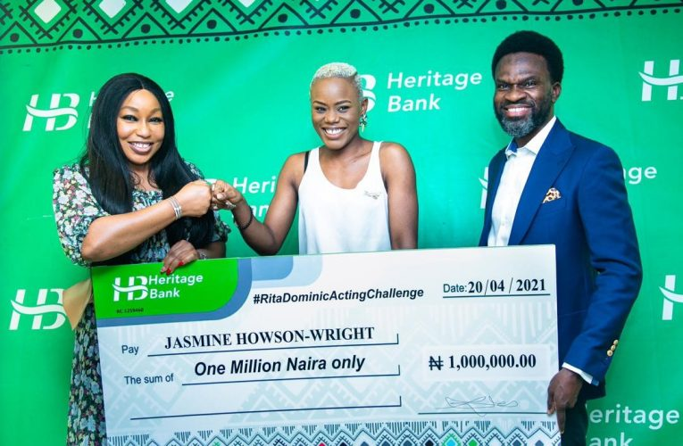 "Heritage Bank promotes creative industry with support for ""Rita Dominic Acting Challenge""…"