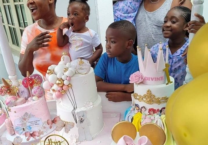 Mercy Johnson-Okojie And Husband Mark Daughter's First Birthday (Video/Photos)…