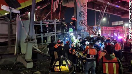 Mexico City metro overpass collapses, killing 15 and injuring dozens (Video)…