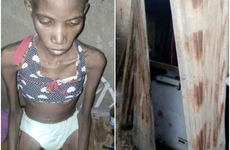 Photos: Police Rescue 12-Year-Old Girl Caged And Starved For 8 Months In Sokoto…