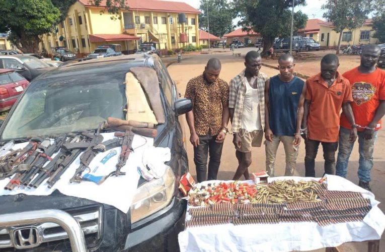 Ebonyi CP, Aliyu Garba, Bursts Crime Syndicate…
