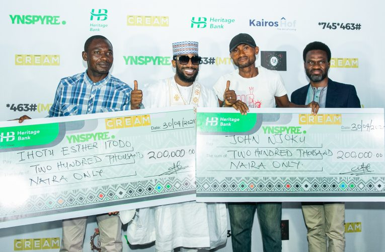 Heritage Bank's YNSPYRE, CREAM Platform April draw produce millionaires…