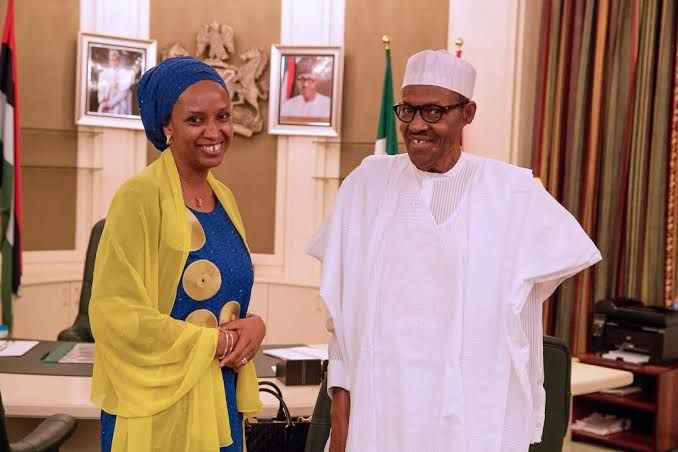 Buhari removes Hadiza Usman as Nigeria Ports MD amid Amaechi, El-Rufai feud…