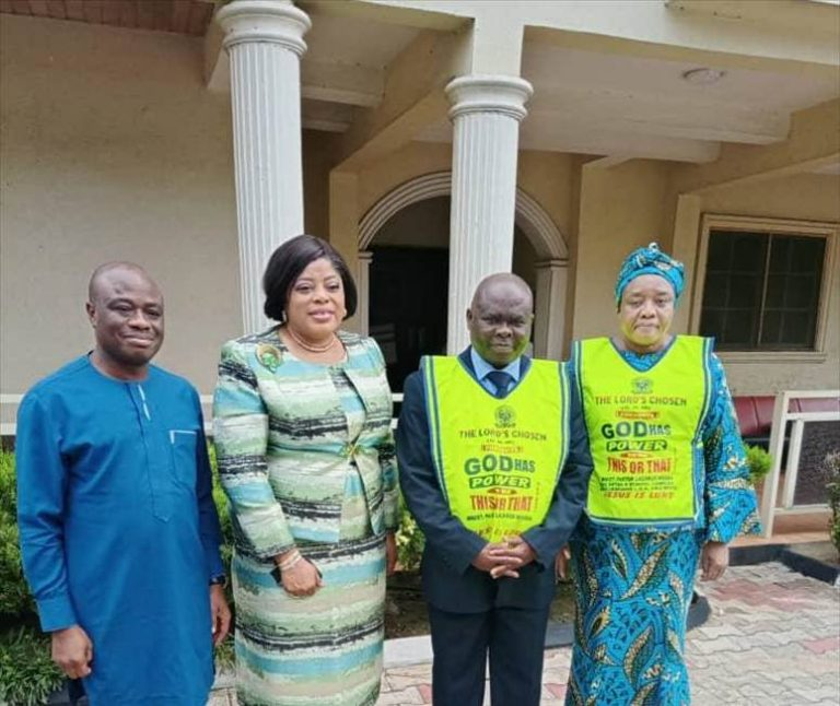 Fidelity Bank's MD Visit Lord's Chosen Charismatic Revival Church…