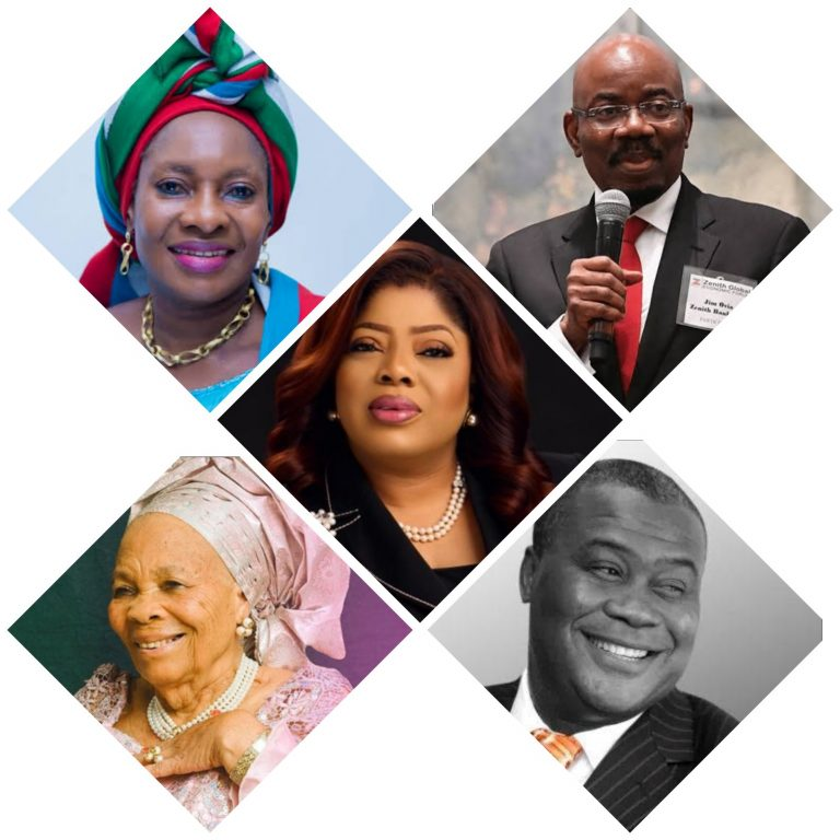 FIDELITY BANK MD, TONY ELUMELU'S MOTHER, OTHERS TO RECEIVE SILENT HEROES AWARD…
