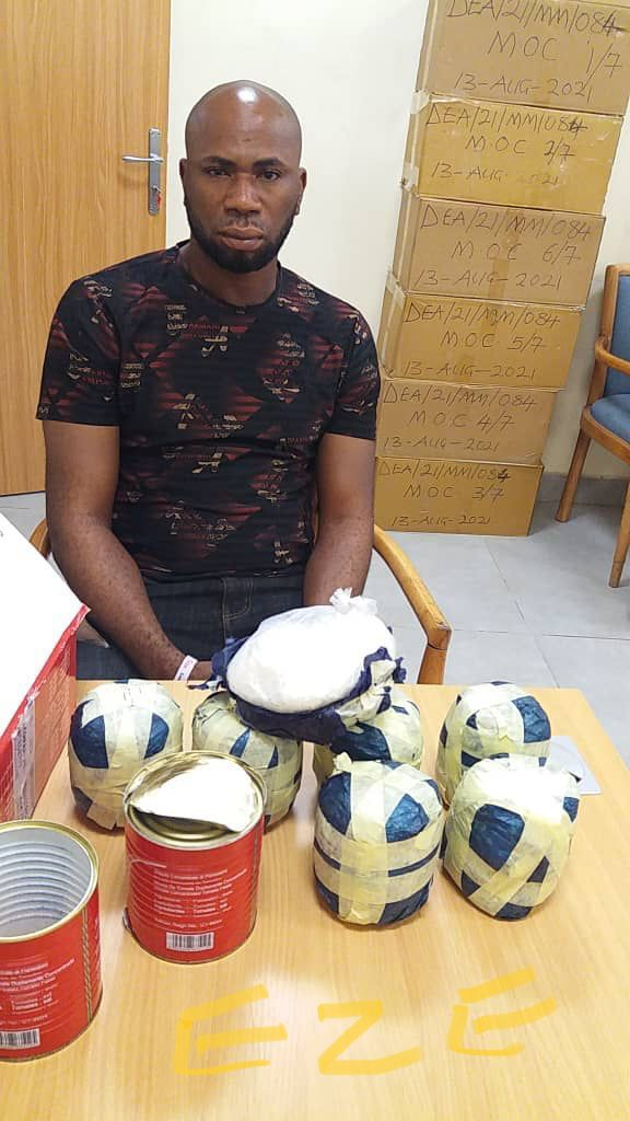 NDLEA Seizes 400.37kg Illicit Drugs, Arrests Kingpin Who Ingested 87 Wraps Of Cocaine…