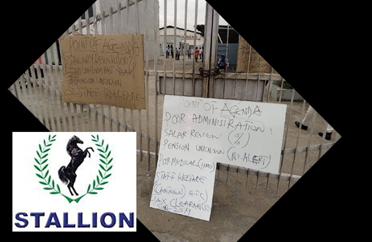 Stallion Group In Crisis As Workers Seals Gate, Embark On Strike…