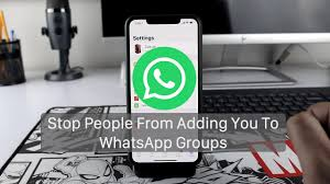 WhatsApp: Watch How To Stop People From Adding You To Groups…