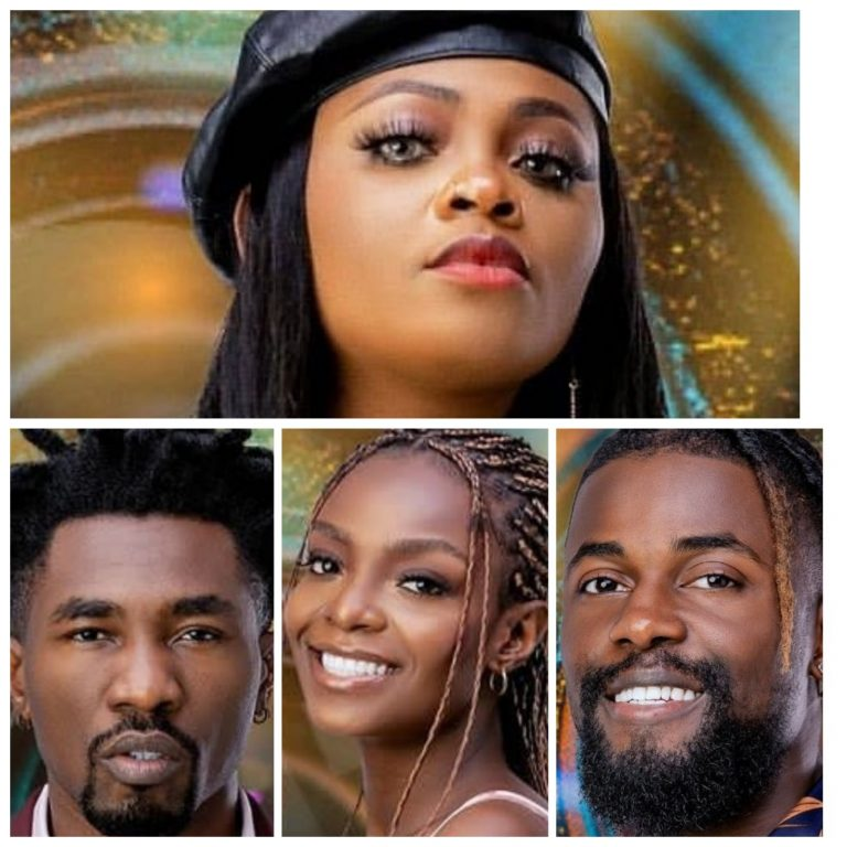 BBNAIJA: 'Four At A Go': Tega, Michael, Peace, Boma Evicted From The House…
